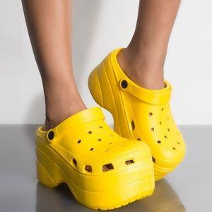 NEW🔥 Platform Wedge Heel Waterproof Clogs Sandal